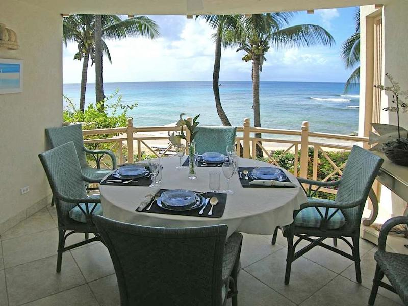 Reeds House #9 at Reeds Bay, St. James, Barbados - Beachfront, Gated Community, Communal Pool - Image 1 - Reeds Bay - rentals