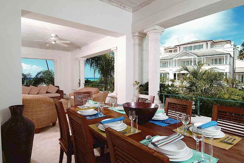 Schooner Bay 206 - The Palms at St. Peter, Barbados - Beachfront, Gated Community, Communal Pool - Image 1 - Speightstown - rentals