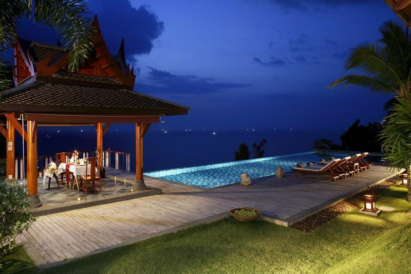 Pool & View - Talaefun Luxury Private Holiday Villa - Kamala - rentals