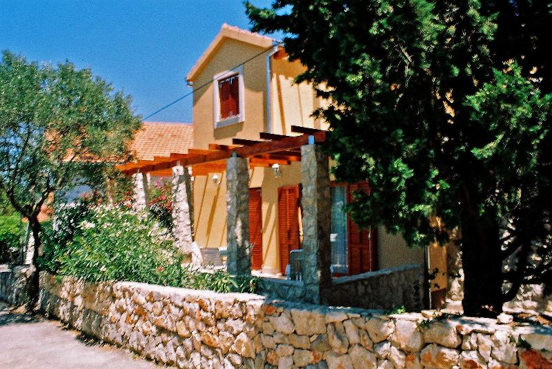 The front side of the house - Mediterranean Scent, Stari Grad, island Hvar   Certificate of Excellence 2014 - Stari Grad - rentals