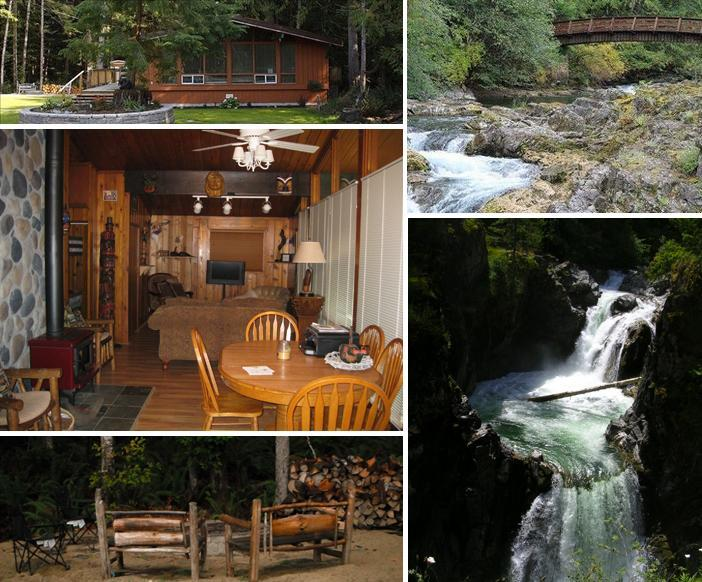 Views of Haida Way Lodge - Charming Haida Way Lodge on Little Qualicum River! - Qualicum Beach - rentals