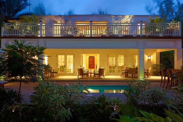 Sitting on the edge of one of Barbados' most beautiful West Coast beaches, this villa was built with luxury in mind. RL LAT - Image 1 - Barbados - rentals
