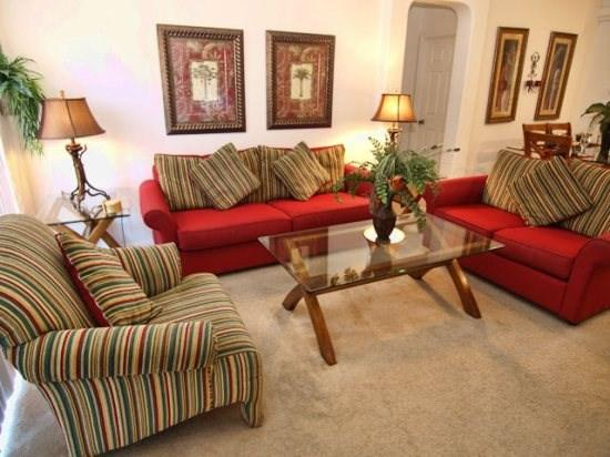 Living Area - GB4P16721RGD 4 BR Wide Pool Home Stylishly Furnished - Four Corners - rentals