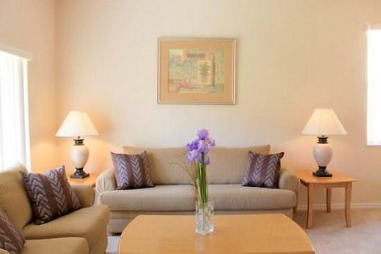 Living Area with Sofa Seating - RP4T131PD 4 BR Town Home near Local Attraction - Davenport - rentals