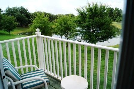 Balcony View from town home - EI3T8513CCL 3 Bedroom Resort Town Home With High-Speed Internet - Four Corners - rentals
