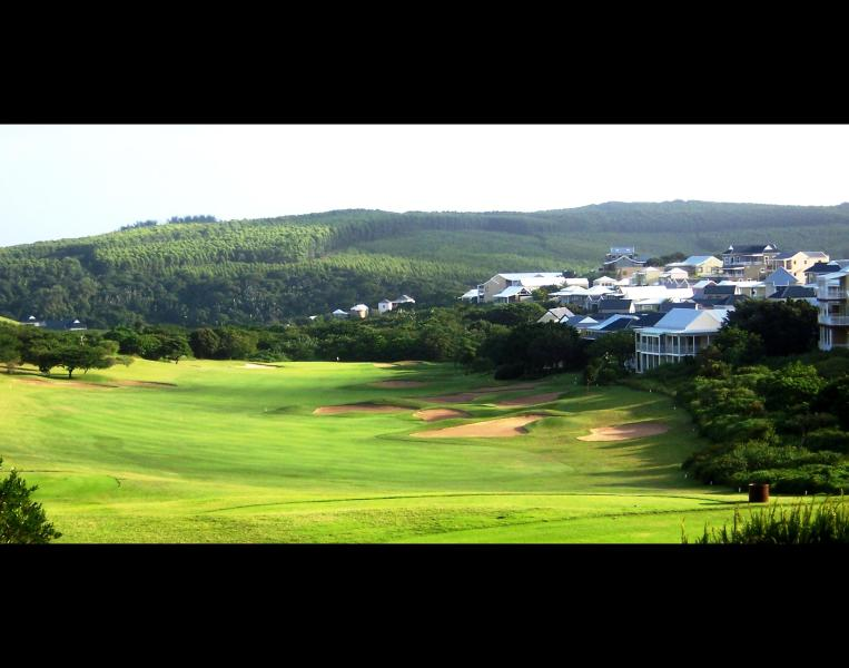 View from Clubhouse - our house is situated at the end of this fairway - Aloestone Lodge - KwaZulu-Natal - rentals