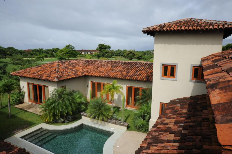 Welcome to Casa Oasis, view of the courtyard and private pool - Colonial Home, Hacienda Pinilla/JW Marriott Resort - Playa Avellanas - rentals