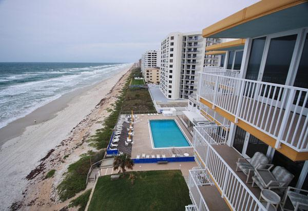 Balcony View - Visit Smyrna Beach Club this Summer - New Smyrna Beach - rentals