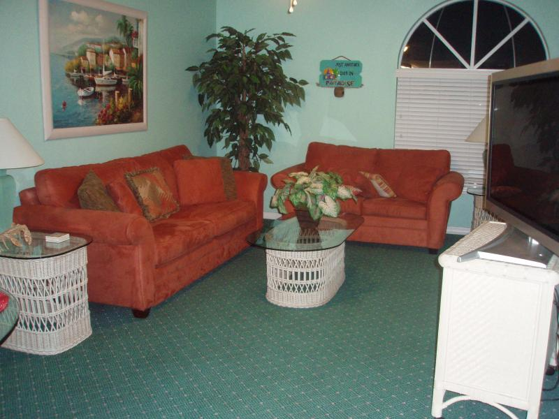 Flat screen TV, Sleeper sofa - Royal Mansions  - Direct Oceanview - Great Beach! - Cape Canaveral - rentals