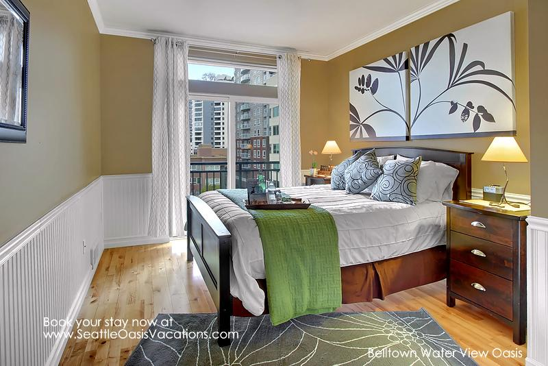 1 Bedroom Belltown Water View Oasis-Heart of downtown Seattle! - Image 1 - Seattle - rentals