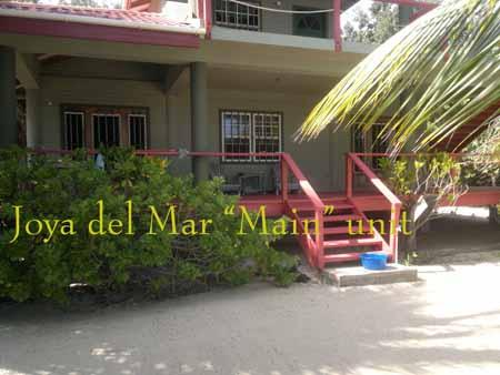A large veranda for the lower Main floor unit and the Upper unit. - Joya del Mar Beach House - Placencia - rentals
