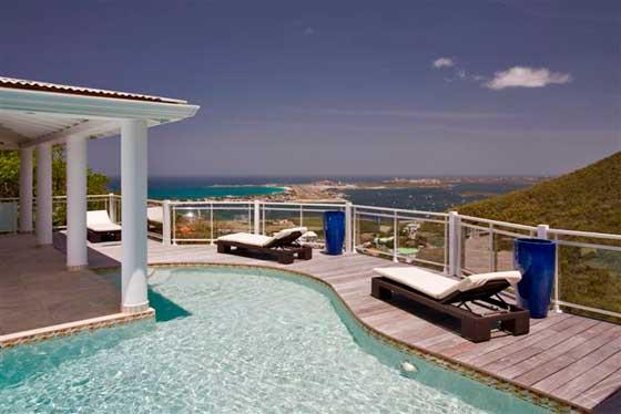Villa Horizon at Almond Grove Estate, Saint Maarten - Ocean View, Gated Community, Pool - Image 1 - Saint Maarten - rentals