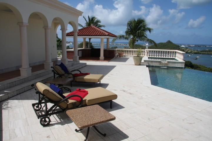 Les Jardins De Bellevue at Bellevue, Saint Maarten - Ocean View, Pool, Walk To Marigot and Marina Royale - Image 1 - Marigot - rentals