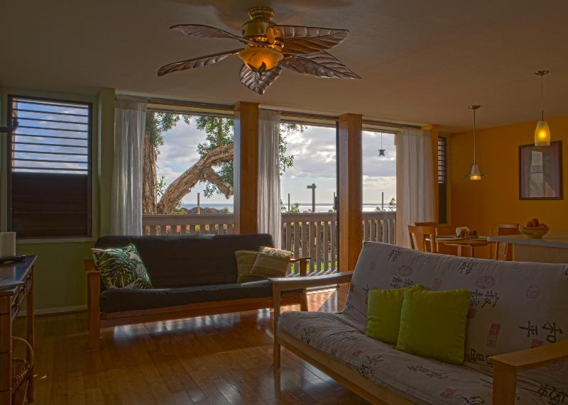 Living Room - Tropical Design, Oceanview, Affordable Price! - Waianae - rentals
