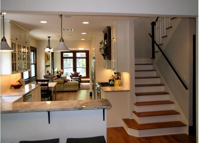 Kitchen into living area - Central Austin Home minutes from SOCO & Downtown! - Austin - rentals