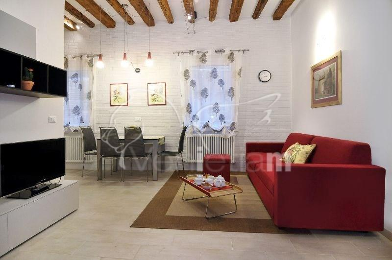 The living room - Ca' Dorina - Venice - rentals