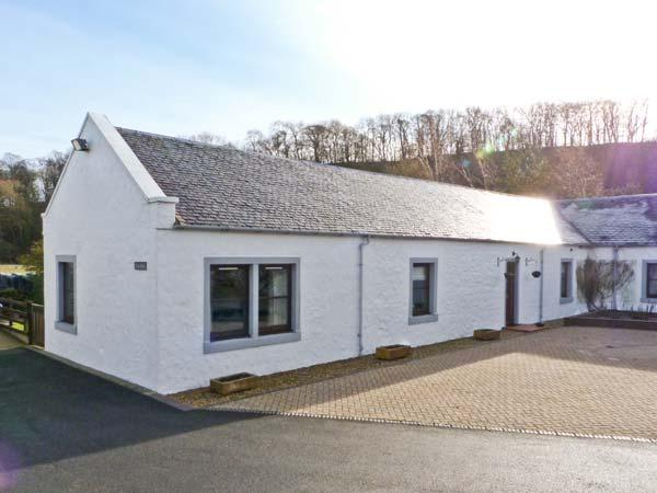 THE BARN AT DALDORCH, pet friendly, country holiday cottage, with a garden in Mauchline, Ref 13688 - Image 1 - Mauchline - rentals