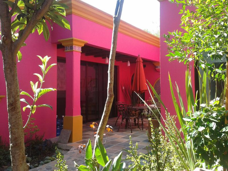 Patio - Easy walk to center of town yet quiet and peaceful - Oaxaca - rentals