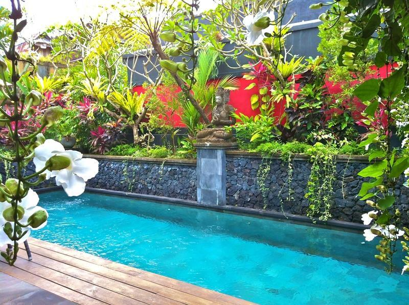 Private Swimming Pool of Residence Villa Cempaka - Bidadari Private Villas & Retreat- Ubud - Ubud - rentals