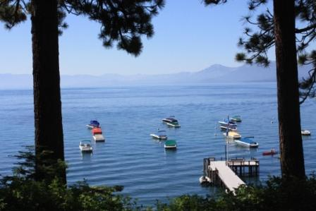 View from your deck! - Dunbar - Lakeview luxury N.Shore townhome - Tahoe City - rentals