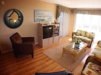 LIVING ROOM - Tradewinds B1 - North Myrtle Beach - rentals