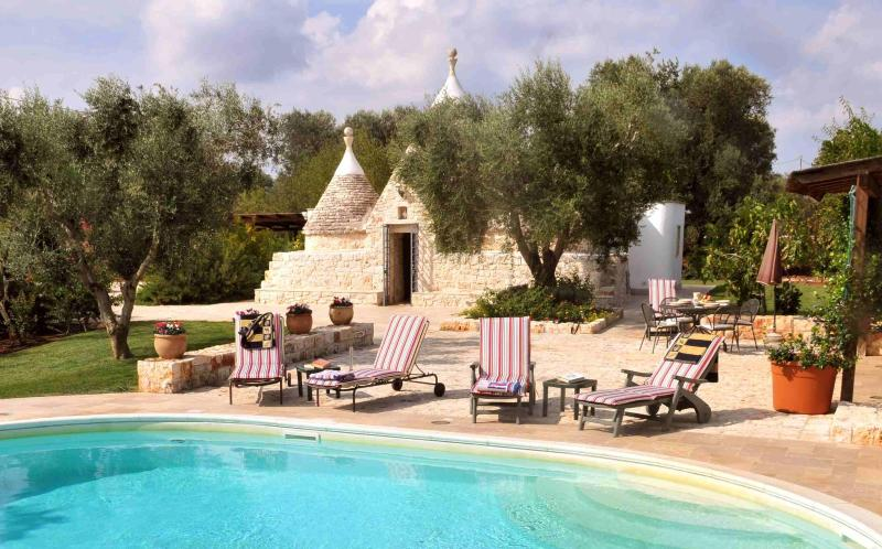 Trulli Stella with Private Pool, Outdoor Kitchen and Sun Terrace - Exceptional Trulli Villa with Pool, Southern Italy - Ceglie Messapica - rentals