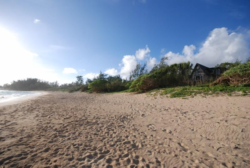 Our Beach - Malaekahana Beachfront Estate: 1.5 Acres & Hot Tub 10% OFF Remaining 2014 Dates - Kahuku - rentals