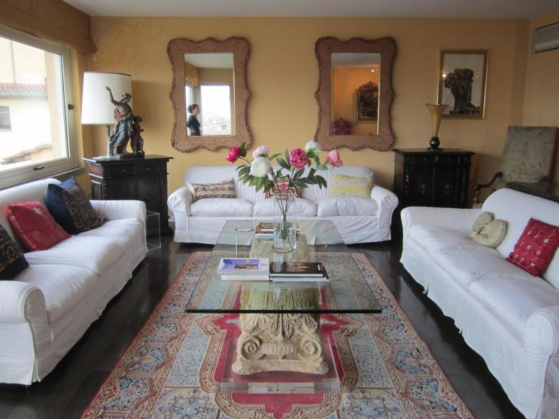 Incredible  penthouse steps from Ponte Vecchio. - Image 1 - Florence - rentals