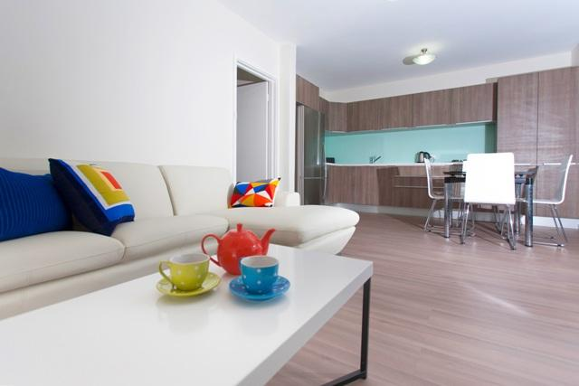 Living area - Cottesloe Parkside Apartment - Perth - rentals