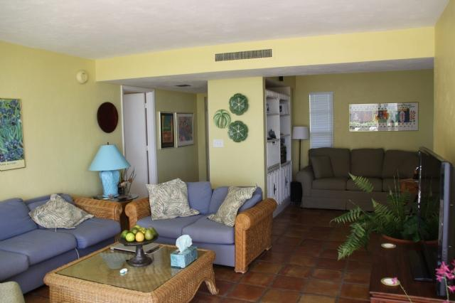 living area - Waters Edge B103 - Marco Island - rentals