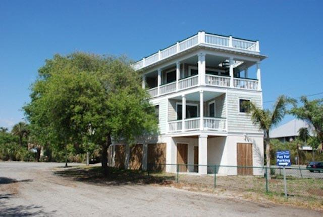 Exterior of home - 101 19th Street - Tybee Island - rentals