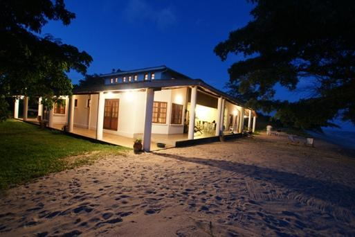 Beach House at Night - Beach House, Chintheche, Northern Malawi - Mzuzu - rentals