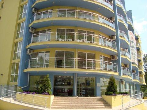 Entrance to Marack 2 - Apartment in Sunny Beach Bulgaria - Nessebar - rentals