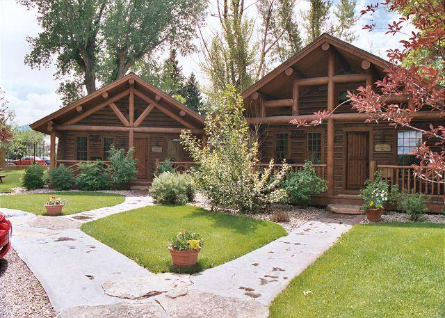 The Madison and Yellowstone cabins are next to each other on the property - Ennis Homestead Yellowstone Cabin - Ennis - rentals