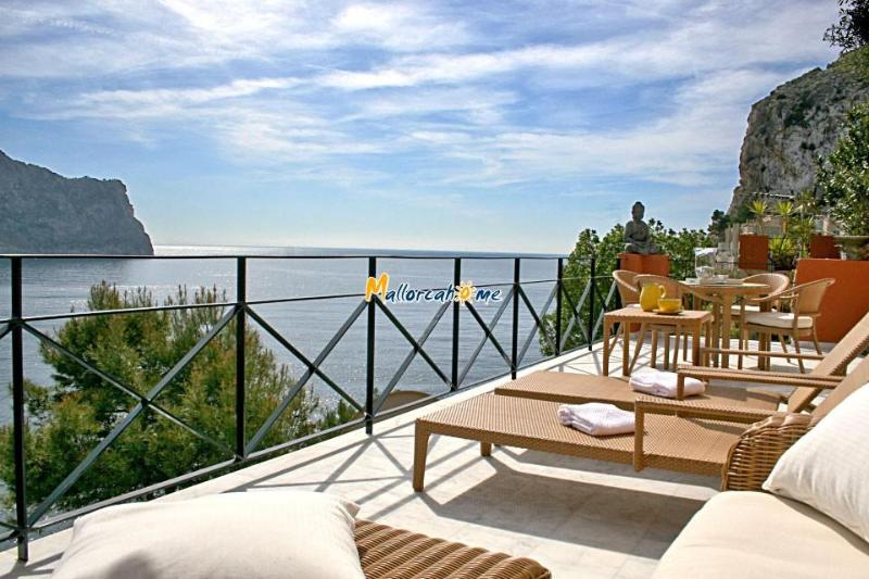 Private terrace - Oceanfront Apartment in Puerto Andratx ID 2249 - Andratx - rentals