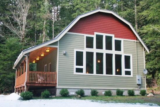 Glacier Springs Cabin #29 - A New pet friendly cabin that sleeps 4. - Image 1 - Glacier - rentals