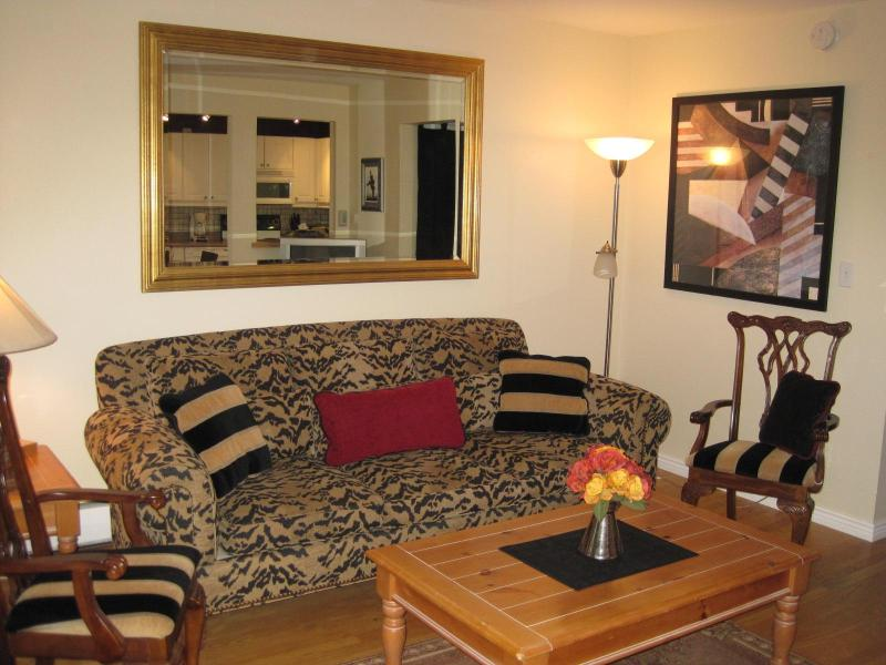 Relaxing Living Area  - One Bedroom Apartment - Prime Downtown Location - Boulder - rentals