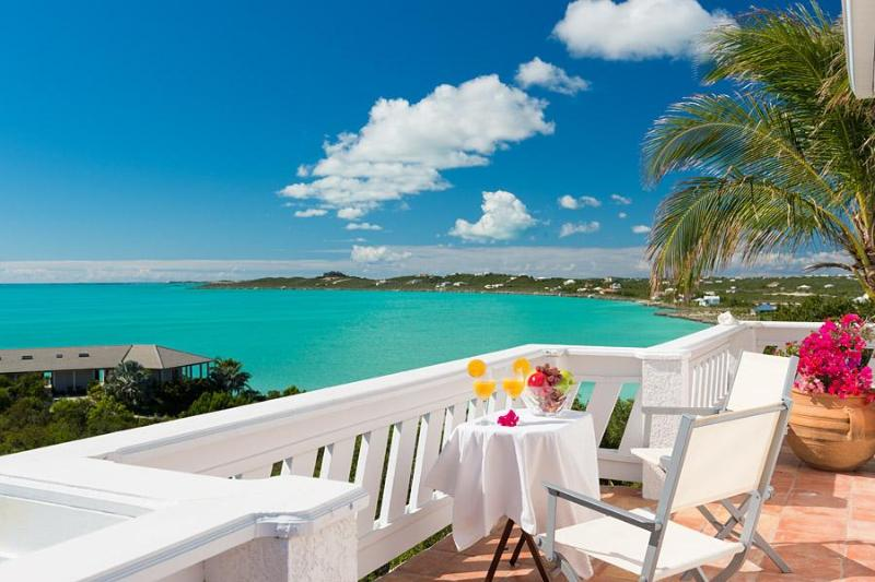 Honeymoon Breakfast, Best View Villa - Oceanfront, Beachfront - Direct Beach Access - Best View Villa - Snorkeling - Turtle Tail - rentals