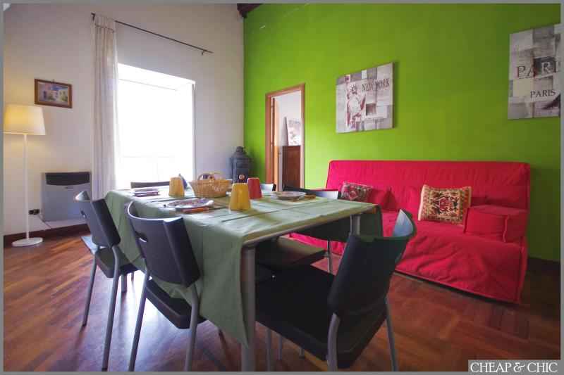 living area - CHIC APARTMENT IN HISTORIC CENTER OF PALERMO - Palermo - rentals