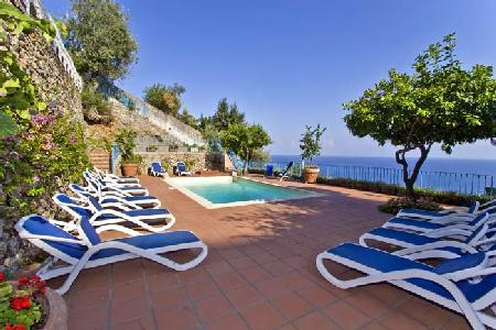 Villa Stella - Magnificent 2 level villa with spacious terraces with pool - Image 1 - Amalfi - rentals