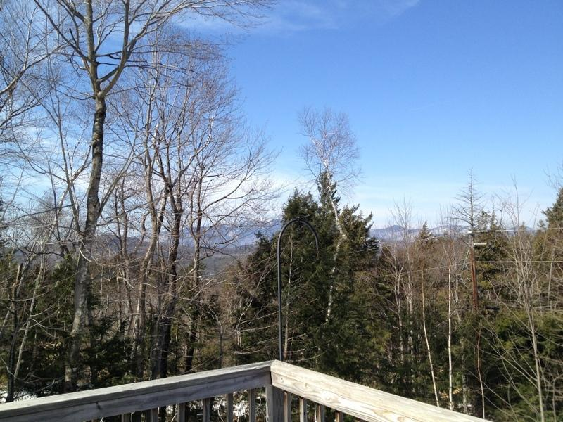 View from deck - Awesome 3 Level Eidelweiss Home with Views! 106796 - Madison - rentals