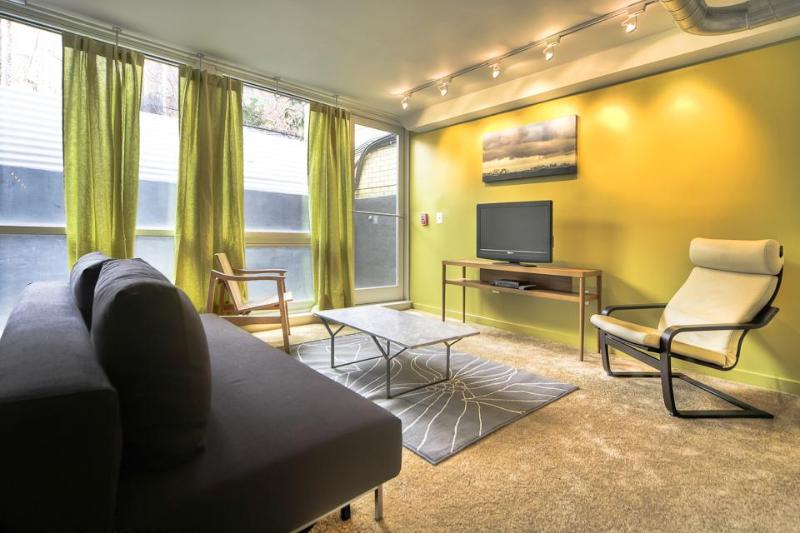 Living Area - 1 Block to Convention Center Dc on a Budget! - Washington DC - rentals