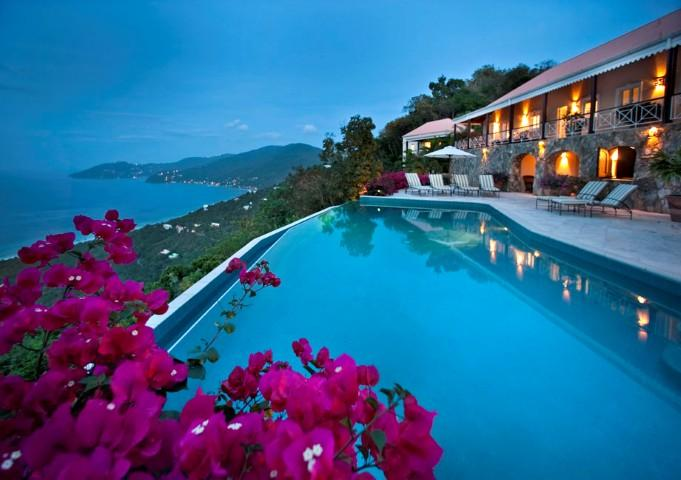 St. Bernard's Hill House at St. Bernard's Hill, Belmont, West End Tortola - Ocean View, Pool, Tropical Gardens - Image 1 - Belmont - rentals