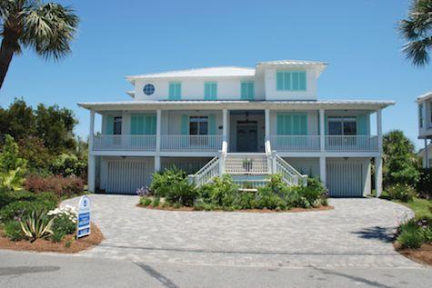 Front of home - Heaven By The Sea - Tybee Island - rentals
