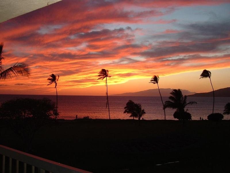 Sunset on our Lanai - Maui Sunset B421 July - August SPECIAL - Kihei - rentals