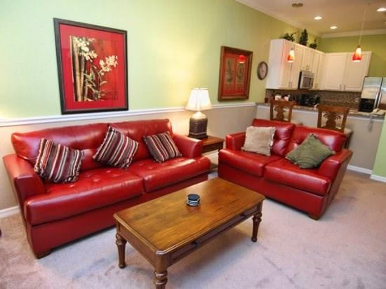 Living Area - BB3C709NPP 3 BR Condo Home Well-Fitted and Spacious - Davenport - rentals
