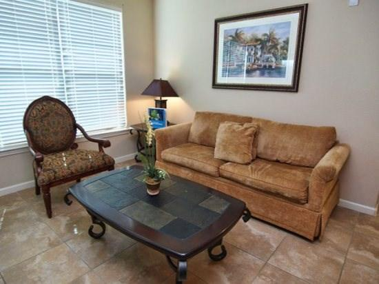 Living Area - BP3C904CP-522 3 Bedroom Condo Home in Bella Piazza Community - Davenport - rentals
