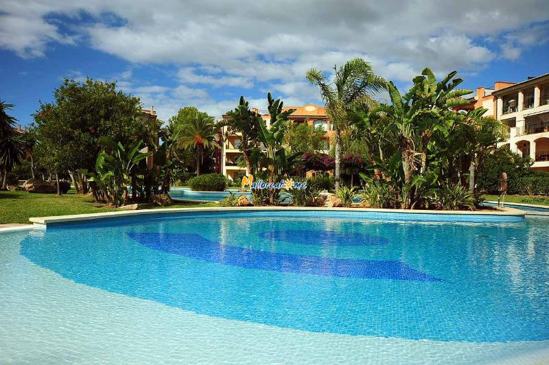 Shared outside pool - Lovely holiday apartment in Santa Ponsa ID 2472 - Santa Ponsa - rentals