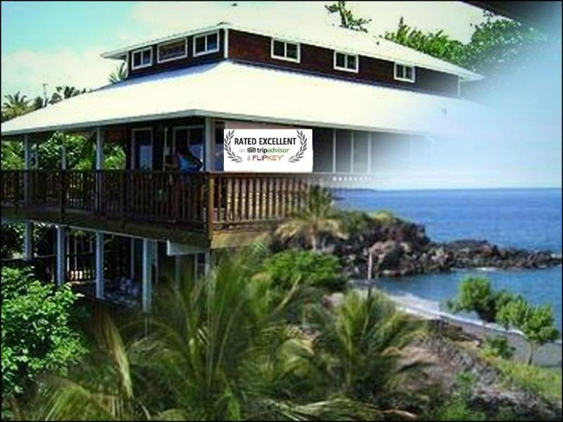 Beautiful AWARD WINNING VACATION RENTAL for 2012- Sweeping Ocean Views & EXTRA Ohana Suite! - AWARD-WINNING Home -Sweeping Ocean Views! - Captain Cook - rentals