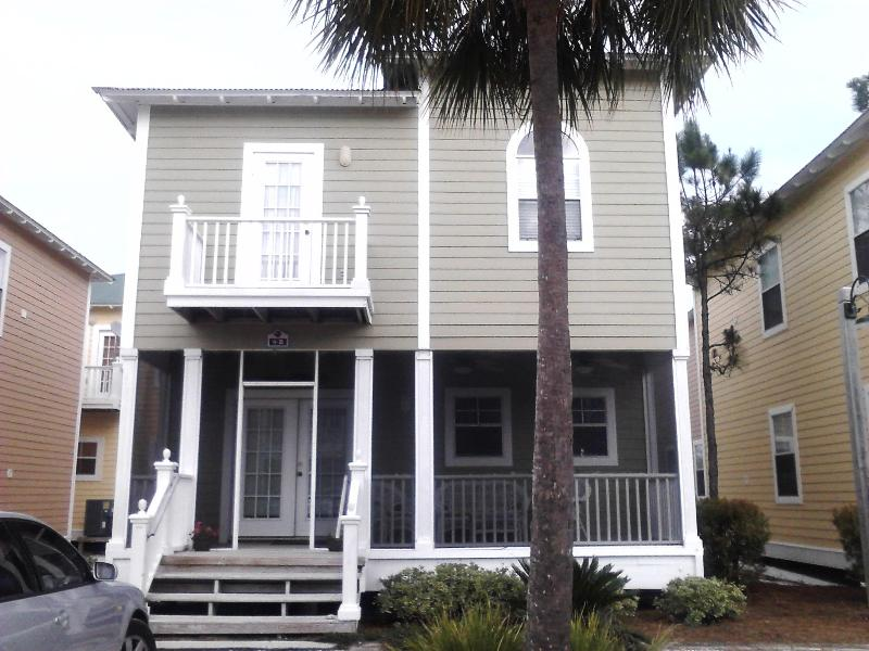 Unit B9; park under your own palm tree! enjoy the porch - ~3br~Purple Parrot Resort~Perdido Key, PensacolaFL - Pensacola - rentals